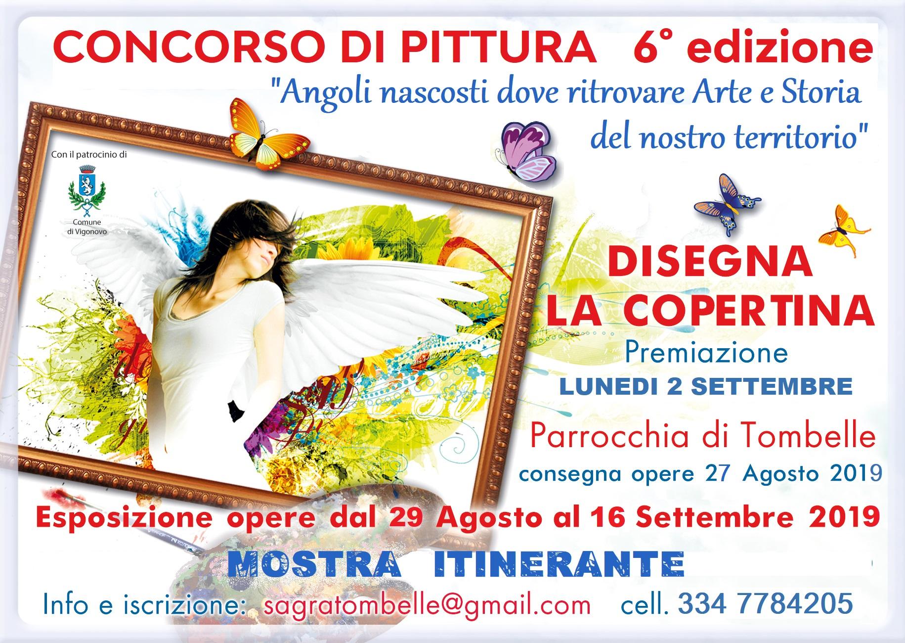 """Comune Di Arcugnano Concorsi 6° concorso di pittura """"disegna la copertina"""" - comune di"""
